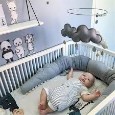 baby bed per 185cm infant bed crib protection kid baby bedding accessories children crocodile pillow toddler