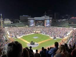 Wrigley Field Section 318r Row 8 Seat 14 Pearl Jam