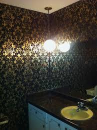 idea bathroom chair rail
