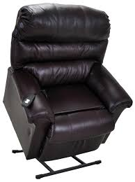 franklin lift and power recliners chocolate leather lift chair item number 498 o
