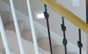 replace stair railing.  Replace Spiffy Wrought Iron Railing Replacement How To Replace Stair Throughout N