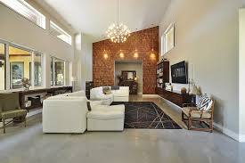 sloped ceilings chandelier austin wall mount a living room modern with accent