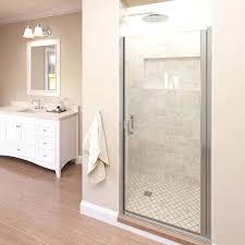 frameless single shower doors. Single Shower Door Semi Frameless Sliding . Doors L