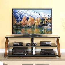 tvstands whalen furniture payton 65 inch glass tv stand living room view