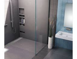 tile ready shower pan fresh redi trench barrier free shower pan 30 x 60 back linear drain