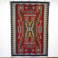 Navajo rug patterns Saddle Blanket Storm Pattern Worthpoint Storm Pattern Garlands