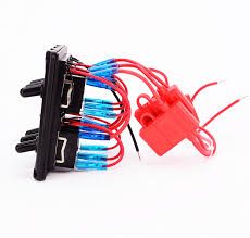 6 gang blue led on off car marine boat toggle switch panel 6 gang blue led on off car marine