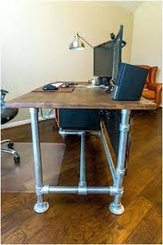 wood and pipe desk build computer desk design ideas as well as enchanting best wood pipe wood and pipe desk
