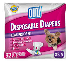 Wee Wee Diapers Size Chart Dog Diapers Walmart Com