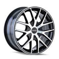 5x112 Bolt Pattern Cool 48x48 48 Wheels Rims Black Chrome FREE Shipping BEST Pricing