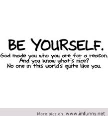 Quote About Yourself Be yourself quote 81