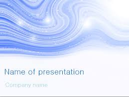 Powerpoint Theme Templates Free Download Free Blue Winter Powerpoint Template For