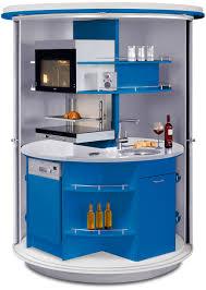 revolving circle compact kitchen