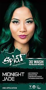 Splat 30 Wash No Bleach Formula Midnight Jade