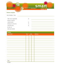 Recipe Template 4 Free Templates In Pdf Word Excel Download