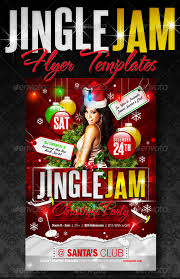 Party Flyer Delectable Top 44 Christmas Party Flyer Templates 44pixels