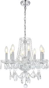 elegant v7838d20c rc princeton chrome mini chandelier light loading zoom