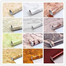 details about marble granite wallpaper self adhesive contact paper vinyl kitchen countertop