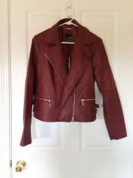 a n a faux leather jacket