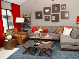 Yellow And Red Living Room Photo Page Hgtv