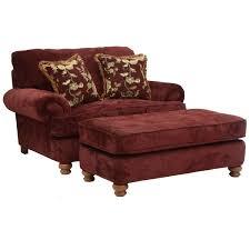 Rectangular Ottoman with Bun Feet by Jackson Furniture