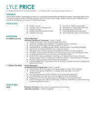 Denote Some To Modern Experience With Technology On Resume Eye Grabbing Manager Resume Samples Livecareer