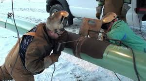 Pipe Welders Pipeline Welding A Day On The Hot Pass Youtube