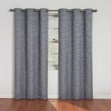 Black Patterned Curtains Magnificent Design Ideas