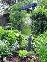 Small Picture Garden Wooden Arches Designs Garden Design And Garden Ideas