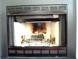 glass fireplace screens with doors built fireplaces glass fireplace screens doors
