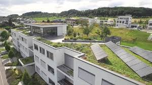 outdoor garden awesome green roof with solar panel for