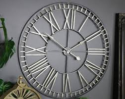 large black wall clocks