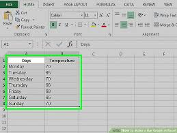 How To Insert A Bar Chart In Excel How To Make A Bar Graph In Excel 10 Steps With Pictures