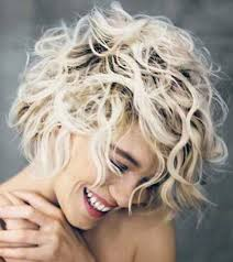 short haircut for curly thick hair