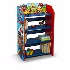 paw patrol bookcase bookshelf kids storage book shelf furniture