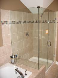 Small Picture Tiny Bathroom Ideas Brown Ceramic Tiles Glass Shower Bath White