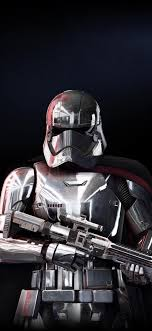 Star wars battlefront ii 2017 video game ultra hd desktop. Captain Phasma Star Wars Battlefront 2 Soldier Wallpaper Captain Phasma Battlefront 2 1125x2436 Wallpaper Teahub Io