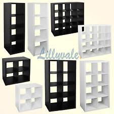 office shelving unit. bookcase shelving shelf4816tier storage display unit office living whiteblack r
