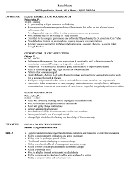 airline resume format flight coordinator resume samples velvet jobs