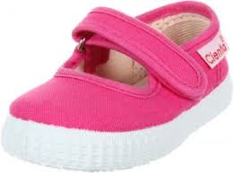 Cienta Mary Jane Sneakers For Girls Fuchsia Casual Shoes With Adjustable Strap 21 Eu 5 M Us Toddler