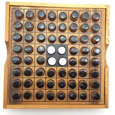 Wooden Othello Board Game Othello Reversi Wooden Game Family Board Games AmaWood 32