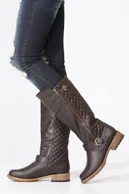 Qupid Quilted Zip Up Riding Boots @ Cicihot Boots Catalog:women's ... & Save Adamdwight.com