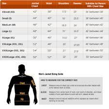 Leather Jacket Size Chart Gangsters Kingdom Spade 4 Leather Jacket
