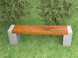 nature loving forest meadow bench