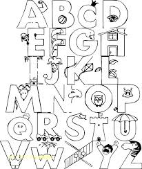 Lowercase Alphabet Coloring Pages Printable Alphabet Coloring Pages