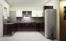 Modern Kitchen Kitchen Material Colour Schemes Used Pantry