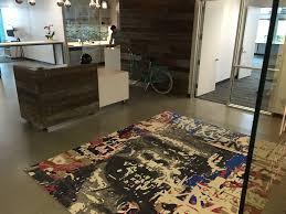 blog news events from kush hand made rugs in portland oregon kush was honored to provide a rug for the lobby of ia interior architects new portland