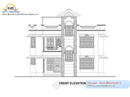 home plan and elevation kerala home design and floor plans floor