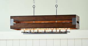 full size of rectangular metal chandelier wood and rustic chand home improvement black