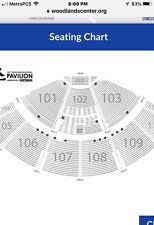 Cynthia Woods Pavilion Seating Chart The Woodlands Tx Rock Pop Hip Hop Tickets For Sale Ebay